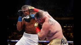 Andy Ruiz knocking out Anthony Joshua on June 3 thumbnail