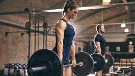 Girl-Doing-Barbell-Deadlift-Gym thumbnail