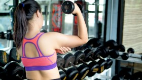 Girl-Grabbing-Underarm-Fat-Holding-Dumbbell thumbnail