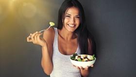 Girl-Smiling-Eating-Salad-Gut-Health thumbnail