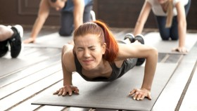 Girl-Struggles-With-Pushup-Plank-Position-Yoga thumbnail