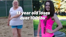 13-Year-Old Inspires with 100lb Weight Loss thumbnail