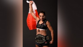 UFC's Joanna Jedrzejczyk Gives HERS Exclusive Interview Video Thumbnail