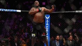 Derrick Lewis finishes Alexander Volkov at UFC 229 thumbnail