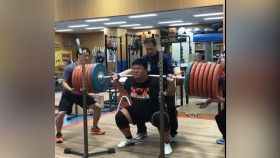 Japanese Weightlifter Lives up to his Nickname, 'The Tank' thumbnail