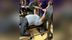 15-year-old Weightlifter Casually Bench Presses 335 Pounds  thumbnail
