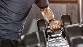 Man-Lifting-Heavy-Dumbbell-Rack thumbnail
