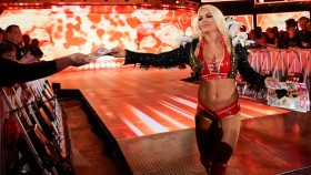 WWE Superstar Mandy Rose hands out her issue of 'Hers' on 'SmackDown.' thumbnail