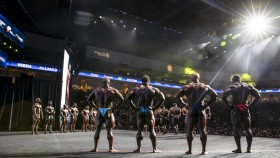 Olympia-Behind-The-Scene-Open-Bodybuilder-Lineup thumbnail