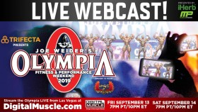 5 Reasons to Watch the 2019 Olympia Webcast thumbnail