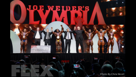 Awards - Open Bodybuilding - 2019 Olympia thumbnail