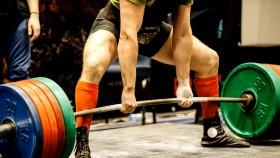 Powerlifter-Attempting-Deadlift-Competition. thumbnail