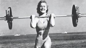 "Abbye ""Pudgy"" Stockton was the Original Muscle Beach Girl  thumbnail"