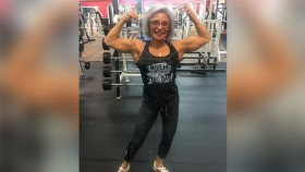 Rebecca Woody is a Shredded 70-Year-Old Bodybuilding Coach  thumbnail