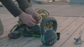 Watch: Insane Joe De Sena Destroys a Pair of Running Shoes to Prove their Endurance thumbnail