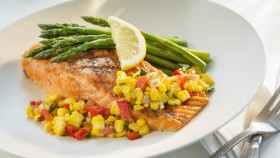 Toaster Oven Recipe for Athletes: Roasted Salmon and Asparagus thumbnail