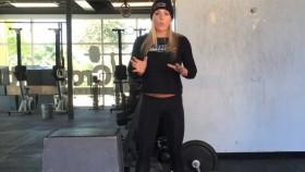 Sarah Grace deadlift workout Video Thumbnail