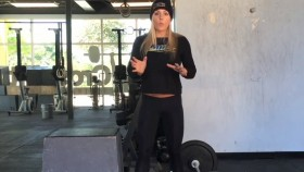 Sarah Grace deadlift workout Video Thumbnail