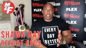 Bodybuilding hall of famer Shawn Ray discusses Arnold's recent comments.  Video Thumbnail
