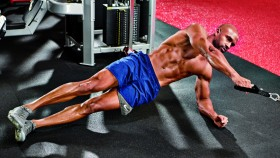 Side Plank Cable Row  thumbnail