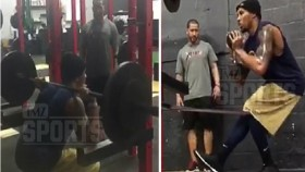 Baller Shot in Head Bounces Back at Gym thumbnail