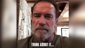 Arnold Schwarzenegger Posts Mysterious Twitter Video About Terminator: Dark Fate thumbnail