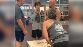 Tim, a 20-year-old with no arms hits a 20-inch box jump thumbnail