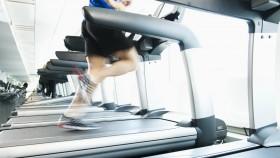 Man running on treadmill thumbnail