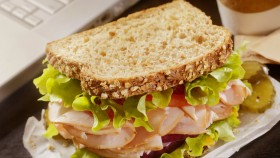 Toaster Oven Recipe for Athletes: Turkey BLT on Whole Grain Bread thumbnail