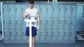 Man Weighing Himself thumbnail