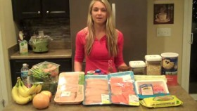 Whitney Wiser in behind a counter of food. Video Thumbnail