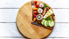 A picture of assorted foods for the Whole30 diet.  thumbnail