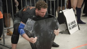 Andrew Gutman competing at a Strongman competition  thumbnail