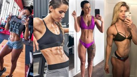 The Best Female Abs on Instagram thumbnail