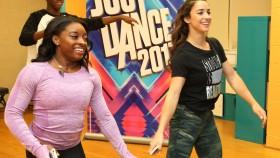 Simone Biles & Aly Raisman Attend 'Just Dance' Event at Kips Bay Boys and Girls Club thumbnail