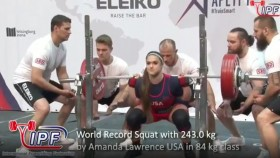 Amanda Lawrence Wins 2019 IPF World Classic Powerlifting Championships thumbnail