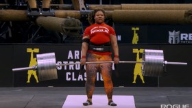 Pro Strongwomen Deadlift 600+ Pounds at the Arnold thumbnail