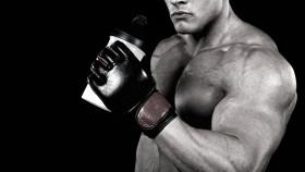 Bodybuilder With Protein Shake Video Thumbnail