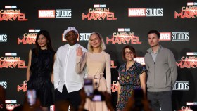 Brie Larson's Instagram Training and History of 'Captain Marvel' thumbnail