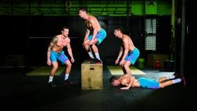 burpee box jump-over CrossFit exercise thumbnail