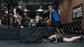 CrossFit Burpee Box Jump miniatura