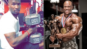 Chad Johnson Blasts 100-pound Dumbbell Press, Calls out Phil Heath, and Claims Steak on 2018 Mr. Olympia Trophy  thumbnail
