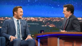 Chris Pratt talks diet on The Colbert Show thumbnail