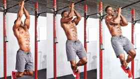 Man Doing a Pullup thumbnail