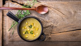 Corn Chowder Soup One-Pot Meal thumbnail