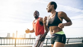 Couple Running Together  thumbnail
