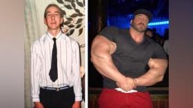 Más grande que la vida Miniatura de transformación de 200 libras de Craig Golias miniatura