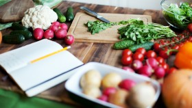 Vegetables on a Countertop  thumbnail