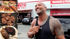 Dwayne Johnson Outside of the Gym  thumbnail