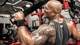 Miniatura del entrenamiento posterior de Dwayne 'The Rock' Johnson